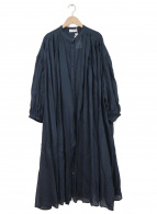 かぐれ(カグレ)の古着「コットンビスコースワイドワンピース」|ネイビー