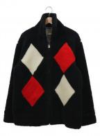 STYLE EYES(スタイルアイズ)の古着「ボアフリースジャケット」|ブラック