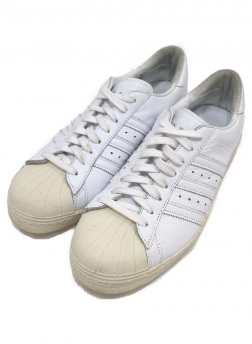adidas(アディダス)adidas (アディダス) ローカットスニーカー ホワイト サイズ:28cm SUPERSTAR 80s EE7392の古着・服飾アイテム