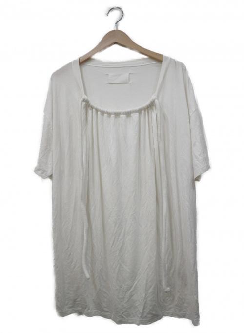 MARTIN MARGIELA(マルタン・マルジェラ)MARTIN MARGIELA (マルタン・マルジェラ) デザインカットソー ホワイト サイズ:Sの古着・服飾アイテム