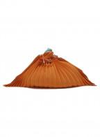 ISSEY MIYAKE FETE(イッセイミヤケフェット)の古着「巾着」 オレンジ