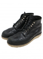 RED WING(レッドウィング)の古着「CLASSIC WORK BOOTS 6」|ブラック