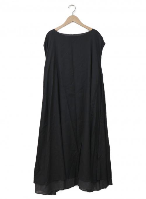 utilite(ユティリテ)utilite (ユティリテ) ノースリーブワンピース ブラック サイズ:Freeの古着・服飾アイテム