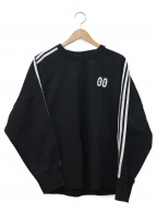 adidas Originals(アディダスオリジナル)の古着「クルーネックスウェット」 ブラック×ホワイト