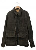 BURBERRY BRIT(バーバリーブリット)の古着「リバーシブルワークジャケット」|ブラウン×ベージュ