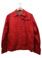 whitesville(ホワイツビル)の古着「ドリズラージャケット」|レッド×ブラック