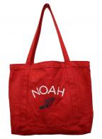 Noah(ノア)の古着「キャンバストートバッグ」 レッド
