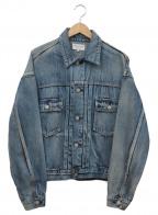 FREAK'S STORE(フリークスストア)の古着「ショートビッグデニムジャケット」|インディゴ