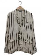 Francis T MOR.K.S(フランシストモークス)の古着「テーラードジャケット」|ベージュ