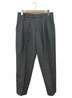 CellarDoor(セラードアー)の古着「別注タックパンツ」|グレー