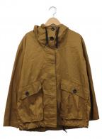 MHL(エムエイチエル)の古着「フーデッドジャケット」|ブラウン