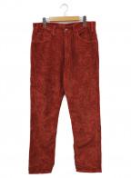 LEVI'S VINTAGE CLOTHING(リーバイスヴィンテージクロージング)の古着「コーデュロイパンツ」 ボルドー