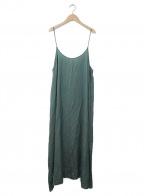 Uhr(ウーア)の古着「Camisole Dress」|グリーン