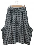 COMME des GARCONS COMME des GARCONS(コムデギャルソン コムデギャルソン)の古着「デザインスカート」|グレー