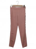 MAISON FLANEUR(メゾン フラネウール)の古着「デザインパンツ」 ピンク