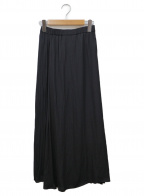 emmi atelier(エミアトリエ)の古着「プリーツスカート」|ブラック
