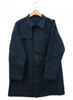 nestrobe confect(ネストローブ コンフェクト)の古着「ステンカラーコート」 ネイビー