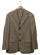 ()の古着「テーラードジャケット」 ベージュ