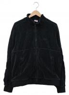 SUPREME×NIKE(シュプリーム×ナイキ)の古着「Velour Track Jacket BLACK」|ブラック