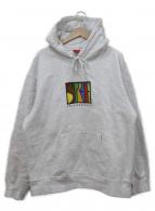()の古着「enterprises hooded sweatshirt」 グレー