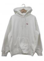 ()の古着「Small Box Hooded Sweatshirt」 ホワイト