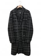 DIESEL(ディーゼル)の古着「チェスターコート」|ブラック
