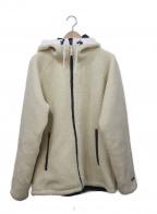 HELLY HANSEN(ヘリー ハンセン)の古着「フーデッドボアフリースジャケット」|アイボリー