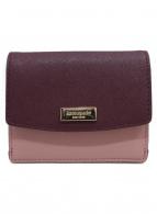 Kate Spade(ケイトスペード)の古着「コンパクト財布」|ダスティーピンク