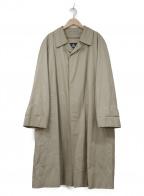 BURBERRY LONDON()の古着「ライナー付ステンカラーコート」|ベージュ