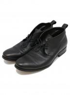 BUTTERO(ブッテロ)の古着「チャッカーブーツ」|ブラック