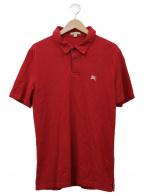 BURBERRY BRIT(バーバリーブリット)の古着「ポロシャツ」|レッド