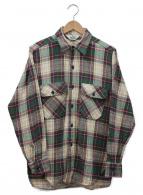 ()の古着「ネルシャツ」|グリーン