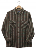 PENDLETON(ペンドルトン)の古着「ネルシャツ」|ブラウン
