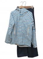 HELLY HANSEN(ヘリー ハンセン)の古着「レインウェアセットアップ」|ホワイト×ブルー