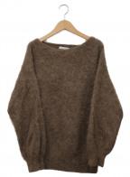 Plage(プラージュ)の古着「Furボリューム袖プルオーバー」|ブラウン