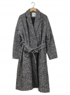CLANE()の古着「ヘリンボーンロングチェスターコート」|グレー