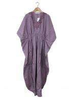 MARIHA(マリハ)の古着「草原の光のカフタン」|パープル