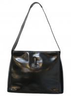LONGCHAMP()の古着「ワンショルダーバッグ」|ブラック
