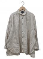 note et silence(ノートエシロンス)の古着「リネンシャツ」 アイボリー