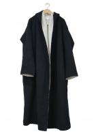 ENFOLD()の古着「ガウンコート」 ブラック