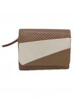 genten(ゲンテン)の古着「2つ折り財布」|ベージュ×ホワイト