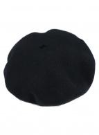 ()の古着「ベレー帽」|ブラック