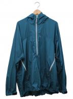 URU(ウル)の古着「HARF ZIP ANORAK PARKA」|ブルー