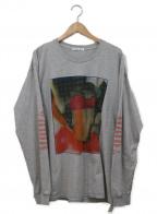 flagstuff(フラグスタフ)の古着「長袖Tシャツ」|グレー