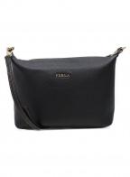 FURLA()の古着「ショルダーバッグ」|ブラック
