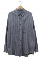 Patagonia()の古着「長袖シャツ」|ブルー