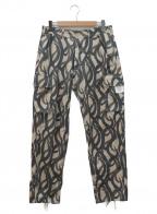 DANKE SCHON(ダンケ シェーン)の古着「トライバルカーゴパンツ」|ベージュ×ブラック