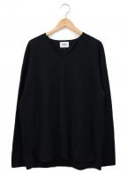 BLURHMS(ブラームス)の古着「ルーズサーマルカットソー」 ブラック