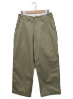 E.TAUTZ(イートーツ)の古着「Core Field Trousers」|カーキ
