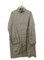 Gymphlex(ジムフレックス)の古着「ルーズステンカラーコート」 ベージュ